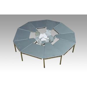 コンパクトに収納できる 焚き火テーブル『HIMAWARI-M』+『焚き火台KIKYO-M[R]』基本キット セット|hango-konro