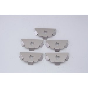 【ご使用にはKIKYO-M、M[R]基本キットが必要です】ファイヤーピットKIKYO-M、M[R]用オプション ハーフ・ストレートパネル・ハートx5枚セット <ミニ送>|hango-konro
