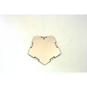 【ご使用にはKIKYO-L基本キットが必要です】ラージサイズ焚き火台 KIKYO-L用オプション 5角形パネル x1枚|hango-konro