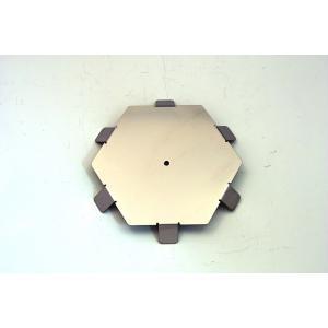 【ご使用にはKIKYO-L基本キットが必要です】ラージサイズ焚き火台 KIKYO-L用オプション 6角形パネル凸6 x1枚|hango-konro