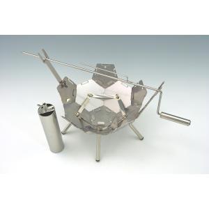 ファイヤーピットKIKYO 焚き火台 基本キット+バウム&お肉くるくるWキット