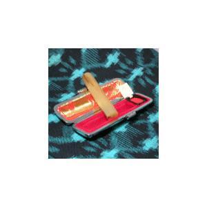 個人印鑑/オランダ水牛(柄)10.5/認印/ケース付|hanko-king