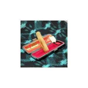 個人印鑑/オランダ水牛(柄)12.0/銀行印/ケース付|hanko-king