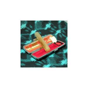 個人印鑑/オランダ水牛(柄)13.5/銀行印/ケース付|hanko-king