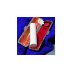 個人印鑑 最高級本象牙(極上)15.0 実印 ケース付「安心印鑑10年保証付」「熟練職人手仕上」「政府認定高級象牙使用」|hanko-king