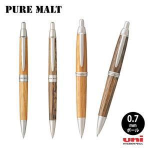 三菱uni ピュアモルト ウィスキー樽から作った0.7mmボールペン|hanko-king