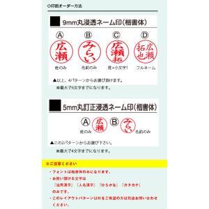 【谷川商事】ツインGT メタル製ダブル浸透印 9mm&5mm メール便 送料無料 TSK-551xx|hanko-king|03