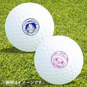 ゴルフボール名入れ マイボールスタンプ ONE PIECE キャラクターシリーズ コンペ景品