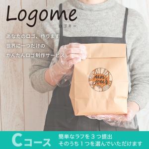 オリジナルロゴ制作サービス「Logome(ロゴミー)」Cコース|hankos