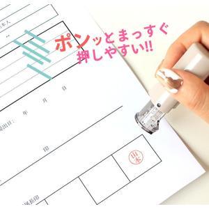 印鑑 はんこ ジョインティ 回転式ネーム印 (...の詳細画像3