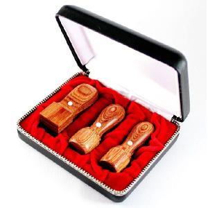 印鑑 はんこ 法人オ彩樺印鑑3本セット 専用ケース付(18.0mm) (16.5or18.0mm)  (24.0mm)Bセット はんこ 法人 会社設立 実印 銀行印 角印 送料無料|hankoya-store-7