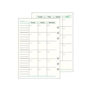 システム手帳リフィル/ダ・ヴィンチ★★★ A5 フリーマンスリーA DAR293 《ダビンチ》《Da...