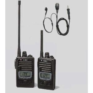 トランシーバー アルインコ DJ-P221 M (ミドルアンテナ) / L (ロングアンテナ) + HD-23SII イヤホンマイクセット|hanna-web