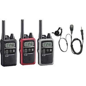 トランシーバー アイコム IC-4300+HD-24SII 耳掛け式イヤホンマイクセット1台  47チャンネル トランシーバー|hanna-web