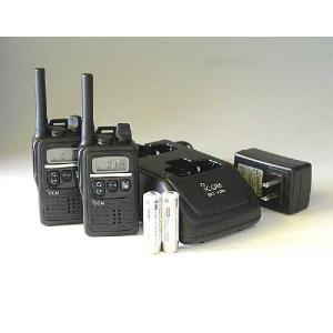 特定小電力トランシーバー  アイコム IC-4300(2台)+BC-200+BC-186(ツイン充電器)+ニッケル水素バッテリー(2本)セット |hanna-web