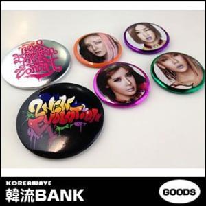 【送料無料・速達・代引不可】 ★公式★ 2NE1 - NEW EVOLUTION ピンボタンセット (Pin Buttons)|hanryubank