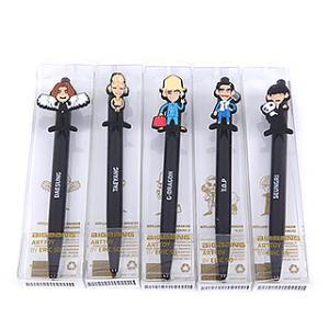 【送料無料・速達・代引不可】 ★BIG SALE★ BIGBANG (ビッグバン) 2015 MADE 公式 グッズ - ART TOY BALLPEN ボールペン [メンバー別5種] (2015 BIGBANG WORLD|hanryubank