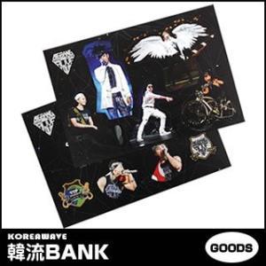 【送料無料・速達・代引不可】 BIGBANG (ビッグバン) 公式グッズ - BIGBANG 2013 Alive Tour STICKER SET (ステッカーセット)|hanryubank