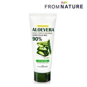 FROMNATURE (フロムネイチャー) - アロエベラ 90% フェイシャル フォーム クレンジング (洗顔フォーム) [130g] 韓国コスメ|hanryubank