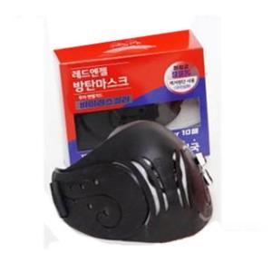 <マスク> ウイルスキラー(肺炎菌99%除去、銅生地使用)レッドエンジェル防疫マスク 黒色|hanryubank