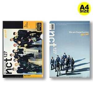 【送料無料・速達・代引不可】 NCT (エヌシーティー) クリア フォルダー / ファイル (Clear Folder / File) [A4 SIZE] グッズ|hanryubank