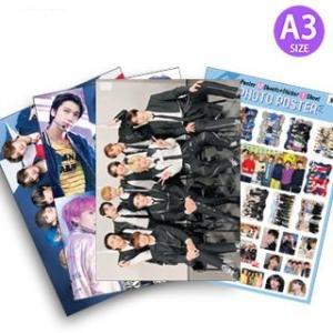 NCT (エヌシーティー) グッズ - フォト ポスター セット (PHOTO POSTER SET) [ポスター12枚 + ステッカー セット1枚] 30cm x 42cm SIZE|hanryubank