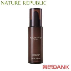 NATURE REPUBLIC (ネイチャーリパブリック) - スネイル (カタツムリ) ソリューション エマルジョン (Snail Solution Emulsion) [乳液 120ml] 韓国コスメ|hanryubank