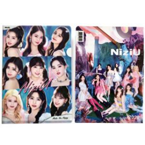 【送料無料・速達・代引不可】 NIZIU (ニジュー) グッズ クリア フォルダー / ファイル (Clear Folder / File) [A4 SIZE] グッズ|hanryubank