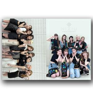 【送料無料・速達・代引不可】 NIZIU (ニジュー) グッズ - プレミアム フォトブック 写真集 (Premium Photo Book) 220mm x 305mm SIZE (34p)|hanryubank