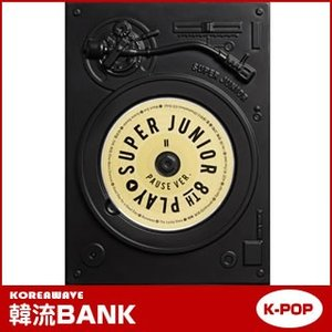 ★ポスター付き★ SUPER JUNIOR (スーパージュニア) 正規8集 アルバム PLAY : PAUSE Ver (8th Album) [CD] グッズ hanryubank