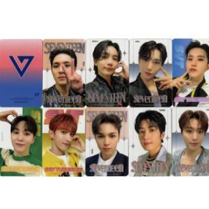 【送料無料・速達・代引不可】 SEVENTEEN (セブンティーン) グッズ - 透明 フォト トレカ カード セット (Clear Photo Card Set) [25枚] hanryubank