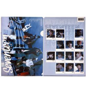 【送料無料・速達・代引不可】 SEVENTEEN (セブンティーン) クリア フォルダー / ファイル (Clear Folder / File) [A4 SIZE] グッズ|hanryubank