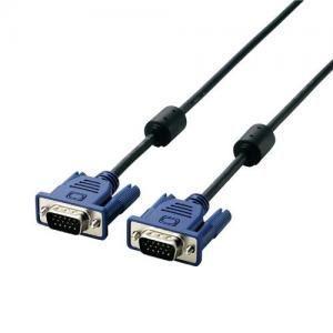エレコム ELECOM 10.0m RoHS準拠 D-Sub15ピン ミニ ケーブル CAC-L10BK RS