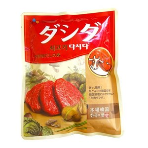 CJ ダシダ(牛肉だし) 牛肉ダシダ 500g|hanryuwood