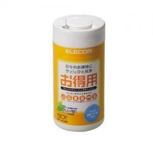 エレコム ELECOM お徳用 60枚入 クリーニングティッシュ WC-AL60