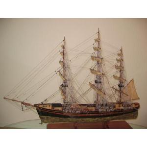 帆船模型 フライング・クラウド・カッパー L (完成品)