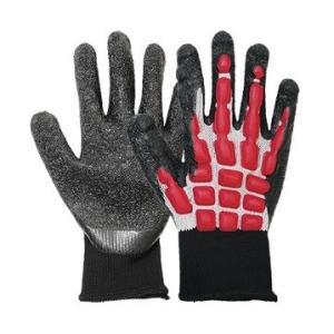 丸五 まもるくん#910【ハードタイプ】 Lサイズ 手甲保護手袋 挟み込みや打ち損じによる衝撃の緩和に! hanshin-k