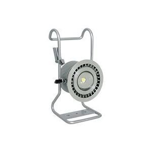 【即納可・送料無料】 日動工業 充電式LED ハンガービッグアイ BAT-H10W-BE 仮設足場の単管に引っ掛けるだけ!長時間点灯で広範囲を明るく照らす!|hanshin-k