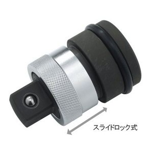 TOP インパクトレンチ用 ワンタッチアダプター EPA-6|hanshin-k
