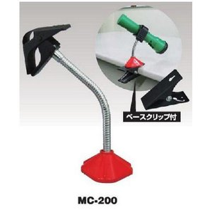 日動工業 万能クリップ MC-200 角度調整自在 強力マグネット付 照明器具 挟んで固定|hanshin-k