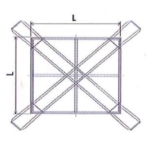 8点吊りシートモッコ イージーモッコ 2m×2m コンドーテック|hanshin-k|03