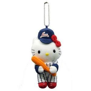 野球日本代表キティ ぬいぐるみマスコット|hanshinkachiya