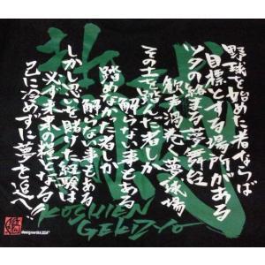 甲子園魂 Tシャツ|hanshinkachiya|03