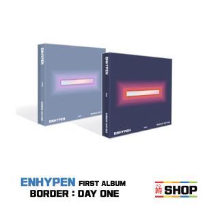 ENHYPEN エンハイフン 正規1集シングル [BORDER : DAY ONE] バージョン選択 I-LAND アイランド/HANTEOチャート反映 hanshop