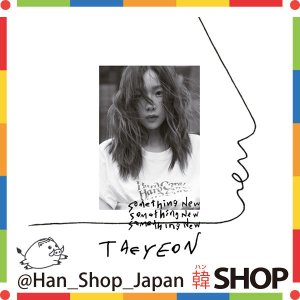 Girls'-Generation 少女時代 ソシ 無関心  テヨン (TAEYEON) 3rd Mini Album-Something New hanshop