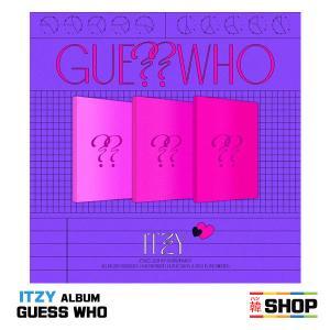 ITZY イッジ NEW ALBUM [GUESS WHO] バージョン選択 チャート反映