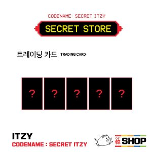 ITZY イッジ トレカセット(TRADING CARD)  [CODE NAME:SECRET ITZY] POPUP STORE公式 hanshop