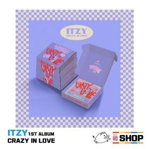 [WITHdrama特典付] ITZY イッジ THE 1ST ALBUM 『CRAZY IN LOVE』正規1集 ランダム発送 2次予約 -HANTEOチャート反映- hanshop