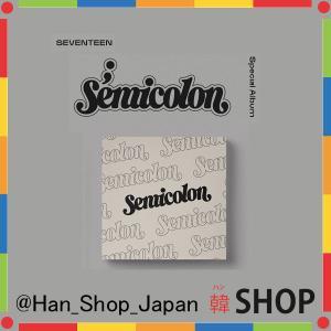 SEVENTEEN セブンティーン セブチ スペシャル アルバム SPECIAL ALBUM ;[Semicolon] セミコロン ランダム発送|hanshop
