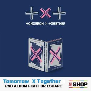 TXT ティーバイティー TOMORROW X TOGETHER 2ND ALBUM THE CHAOS CHAPTER [FIGHT OR ESCAPE] HANTEO チャート反映|hanshop